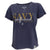 NAVY GIRLFRIEND LADIES LOOSE FIT V-NECK T-SHIRT (NAVY) 1