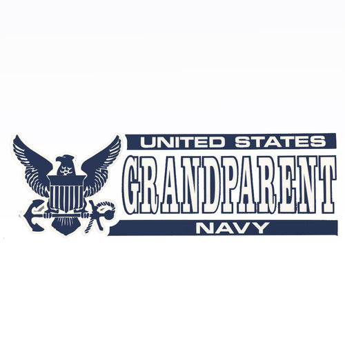 NAVY GRANDPARENT DECAL 1