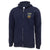 NAVY LACROSSE LOGO FULL ZIP (NAVY)