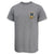 NAVY LACROSSE LOGO T-SHIRT (GREY)