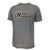 NAVY LACROSSE SPORT PERFORMANCE T-SHIRT (GREY)