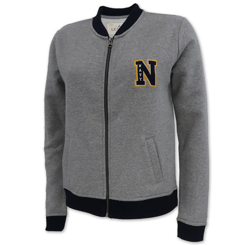 NAVY LADIES ACADEMY TRACK JACKET (NAVY) 1