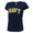 NAVY LADIES ARCH V-NECK T-SHIRT (NAVY) 1