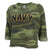 NAVY LADIES CHAMP REMIX SWEATSHIRT (CAMO)