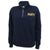 NAVY LADIES DAKOTA QUARTER ZIP PULLOVER (NAVY)