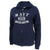 NAVY LADIES DISTRESSED RELAX FULL ZIP (NAVY)