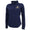NAVY LADIES DOUBLE KNIT JERSEY 1/4 SNAP (NAVY)