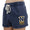 NAVY LADIES LACROSSE LOGO RALLY SHORT