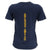 Navy Ladies Under Armour Bi-Blend T-Shirt (Navy)