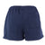 NAVY LADIES WEATHERED TERRY SHORT (WASHED NAVY) 1