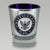 NAVY LASERCUT SHOTGLASS