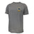Navy Lacrosse Logo Performance T