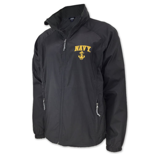NAVY LIGHTWEIGHT FULL ZIP (GRAPHITE) 4