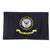 NAVY LOGO 2 SIDED EMBROIDERED FLAG (3'X5') 2