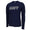 NAVY LONG SLEEVE PERFORMANCE T (NAVY) 1