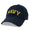 NAVY LOW PROFILE ARCH HAT 2