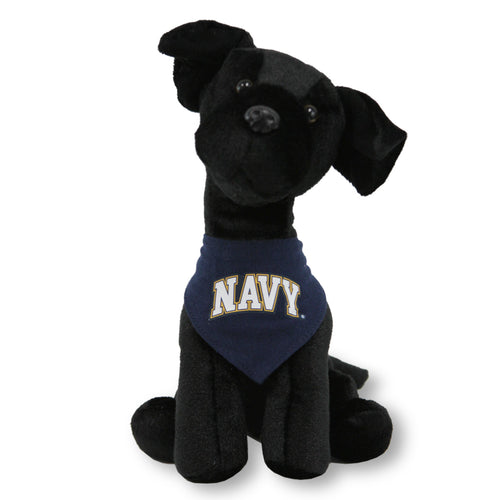 NAVY MIGHTY TYKES BLACK LAB (9 INCHES)