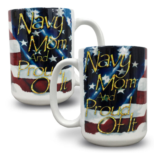 NAVY MOM COFFEE MUG 4