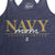 NAVY MOM LADIES RACERBACK TANK (NAVY) 4