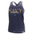 NAVY MOM LADIES RACERBACK TANK (NAVY) 2