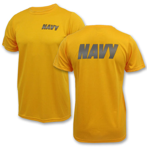 NAVY PT T-SHIRT (GOLD) 6