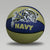 NAVY RUBBER BASKETBALL