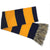 NAVY STRIPE SCARF (NAVY/GOLD)
