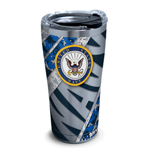 NAVY TERVIS 20OZ STAINLESS STEEL TUMBLER