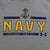 NAVY UNDER ARMOUR ANCHOR LOGO ARMOUR FLEECE HOOD (GREY)