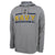 NAVY UNDER ARMOUR ANCHOR LOGO ARMOUR FLEECE HOOD (GREY) 1