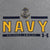 NAVY UNDER ARMOUR ANCHOR LOGO TECH T-SHIRT (GREY)