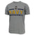 NAVY UNDER ARMOUR ANCHOR LOGO TECH T-SHIRT (GREY) 1