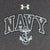 NAVY UNDER ARMOUR ARCH ANCHOR TECH T-SHIRT (GREY) 1