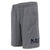 Navy Under Armour Cotton Jersey Shorts (Steel Heather)