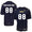 NAVY UNDER ARMOUR SIDELINE CUSTOM FOOTBALL JERSEY 10