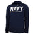 NAVY UNDER ARMOUR DAMN THE TORPEDOES SHIP HOOD (NAVY) 1