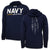 NAVY UNDER ARMOUR DAMN THE TORPEDOES SHIP HOOD (NAVY)