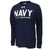 NAVY UNDER ARMOUR LIMITED EDITION SHIP LONG SLEEVE TEE (NAVY) 8