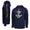 NAVY UNDER ARMOUR ANCHOR SIDELINE FOOTBALL ARMOUR FLEECE HOOD (NAVY) 3