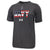 NAVY UNDER ARMOUR USA FLAG TECH T-SHIRT (CHARCOAL) 2