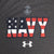 NAVY UNDER ARMOUR USA FLAG TECH T-SHIRT (CHARCOAL)