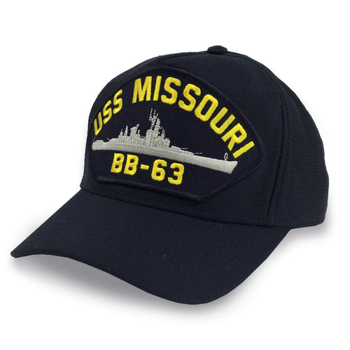 NAVY USS MISSOURI BB63 HAT 4