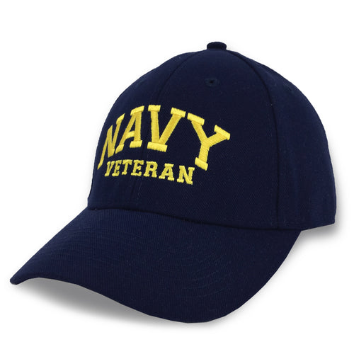 NAVY VETERAN TWILL HAT 3