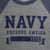 NAVY VICTORY FALLS RAGLAN LONG SLEEVE T-SHIRT (GREY/NAVY) 3