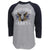 NAVY VINTAGE BASIC BASEBALL T-SHIRT (GREY/NAVY) 1