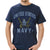 NAVY VINTAGE BASIC T-SHIRT (NAVY) 3