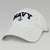 NAVY WOMENS ANCHOR HAT (WHITE) 3