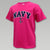 NAVY YOUTH ARCH ANCHOR T (PINK)