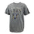 NAVY YOUTH EAGLE EST. 1775 T-SHIRT (GREY) 1