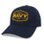 PROUD NAVY DAD MID-PRO SOLID SNAPBACK HAT (NAVY) 1